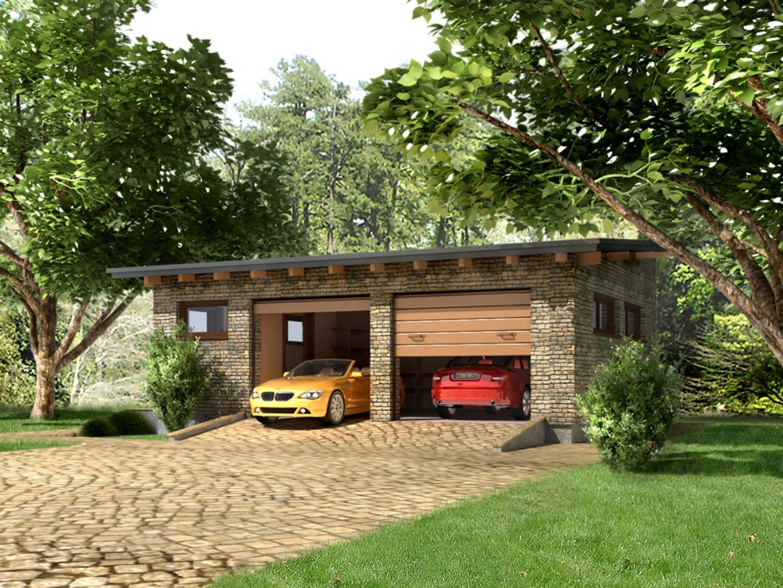 Mājas projekts Garažas 1